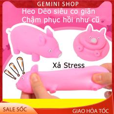 Đồ Chơi Con LỢN HEO HỒNG BẰNG NHỰA DẺO XẢ STRESS HD1 Dễ thương MANG LẠI NIỀM VUI CHO NGƯỜI SỬ DỤNG GEMINI SHOP