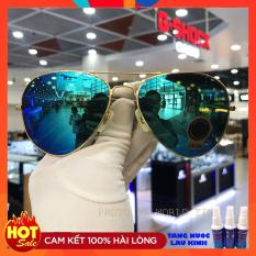 Kính mát thời trang RB435 tráng gương xanh, tròng Polarized chống tia UV, chống chói lóa- Full hộp + thẻ bảo hành 12 tháng + khăn lau kính