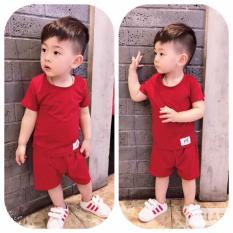 set bộ ngắn tay bé trai, gái – đồ bộ vải cotton mịn mát mùa hè (size5-29kg)
