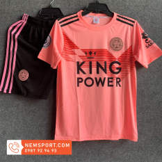 Áo Đá Bóng Leicester City Màu Hồng Mới 2021