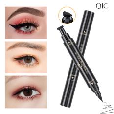 Bút dạ kẻ mắt 2 đầu QIC kẻ mắt nước 2 đầu không lem không trôi kẻ mắt nước trang điểm, bút kẻ viền mắt nội địa Trung XP-EL031