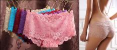 Set 10 quần lót ren đùi nữ thoáng mát,dễ mặc,ren mềm mịn QL121 (giao đủ màu)