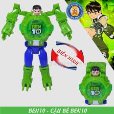 [ Có video ] Đồ Chơi Robot biến hình đồng hồ đeo tay các nhân vật Siêu anh hùng có đèn ZL8525 – Đồ khuyến mãi giá tốt