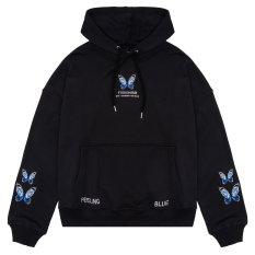 Áo hoodie FUSIONISM unisex Hoodie Butterfly