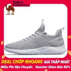 Giày sneaker thể thao nam Camel siêu nhẹ thoáng khí, đế chống mài hòn chống trơn trượt, thích hợp để chạy bộ