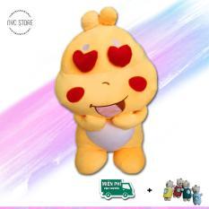 [Vải xịn] Gấu bông khủng long lai 50cm chất lượng VNXK + Tặng móc khóa gấu đáng yêu