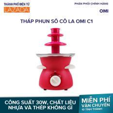 Tháp phun sô cô la OMI C1