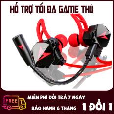 Tai Nghe Nhét Tai Có Dây Jack 3.5mm Siêu Bass, Âm thanh HIfi lõi tứ phù hợp với mọi thể loại Gaming, EDM, Remix – Tai nghe gaming G901, tai nghe gaming cho điện thoại, PC; tai nghe chơi game