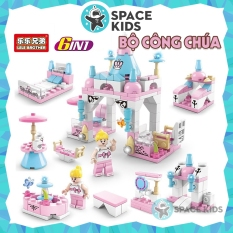 Đồ Chơi lego cho Bé Gái khu vườn cổ tích, công viên tuổi thơ, thành phố vui nhộn