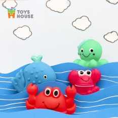 Đồ chơi nhà tắm cho bé-set 4 món vô cùng dễ thương Toys House, hàng chính hãng