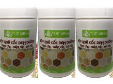 3hũ bột ngũ cốc dinh dưỡng từ 12 loại hạt giúp lợi sữa