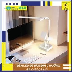 Đèn để bàn LED đôi độc đáo, đèn học, đèn đọc sách không tia UV, không nhấp nháy bảo vệ mắt chống cận thị PT Store