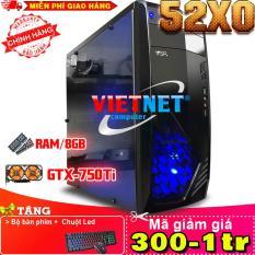 Máy tính chơi game VNgame 52X0 i5 2400 GTX750Ti 8GB 250GB (chuyên LOL, GTA 5, Fifa, Battelground, Overwatch)