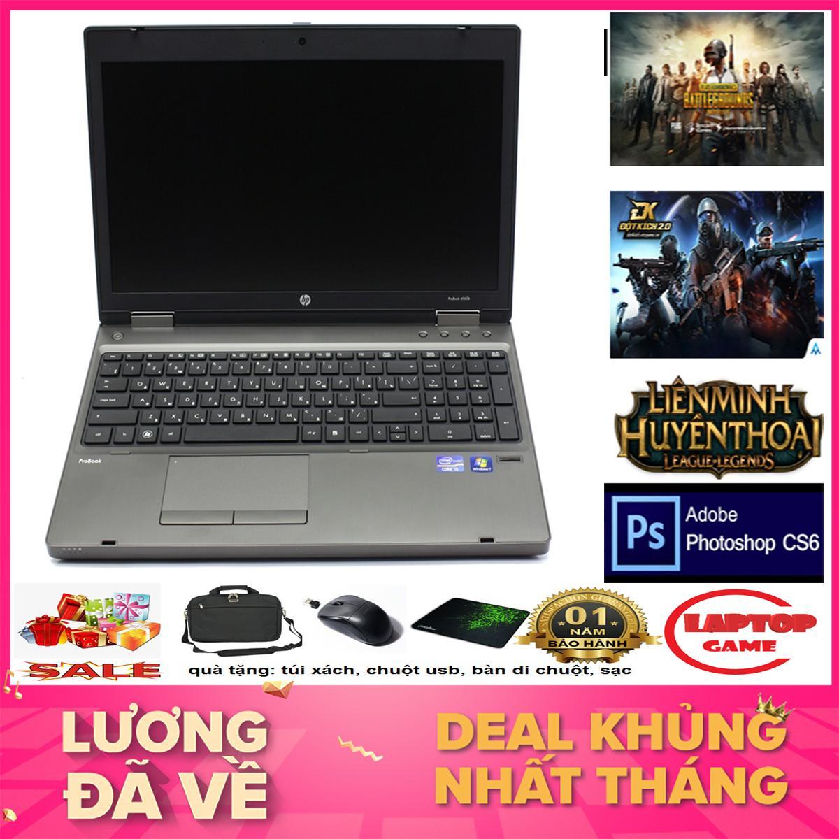 Laptop chơi game + đồ họa giá tốt - HP 6570B ( Core i5 3230M, Ram 4G, HDD 250G,Màn 15.6,...