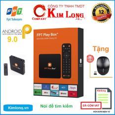 Android TV Box FPT Play Box+ 4K 2019 S400 Voice Remote + Kèm chuột – Hãng phân phối