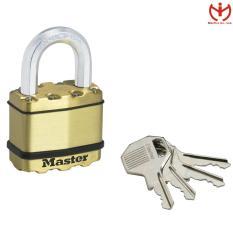 Khóa Chống Cắt Master Lock M5B EURD Thân Lá Thép Bọc Đồng 52mm 4 Chìa Răng Cưa – MSOFT