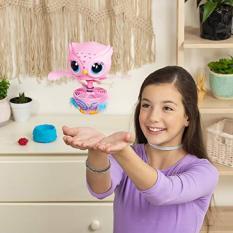(Hàng Mỹ) Cú con Owleez biết bay, đồ chơi tương tác cho con yêu