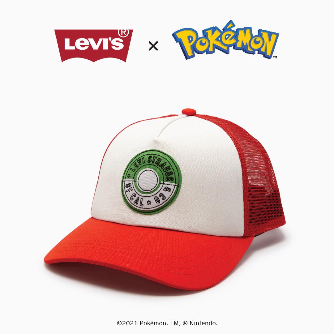 LEVI'S NÓN TRUCKER / 38021-0482 (BST Pokemon)