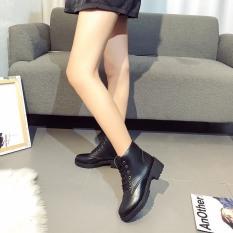 boots nữ da bóng tôn dáng tôn da cực bụi bặm