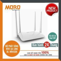 Bộ phát sóng wifi 4 râu cực mạnh LB-LINK BL-WR450H – Hàng chính hãng bảo hành 24 tháng!!!