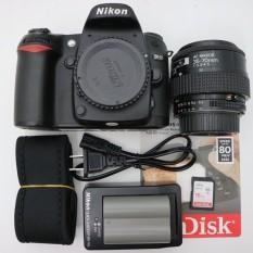 Bộ máy ảnh nikon D80 ống kính 35-80 mới 98%