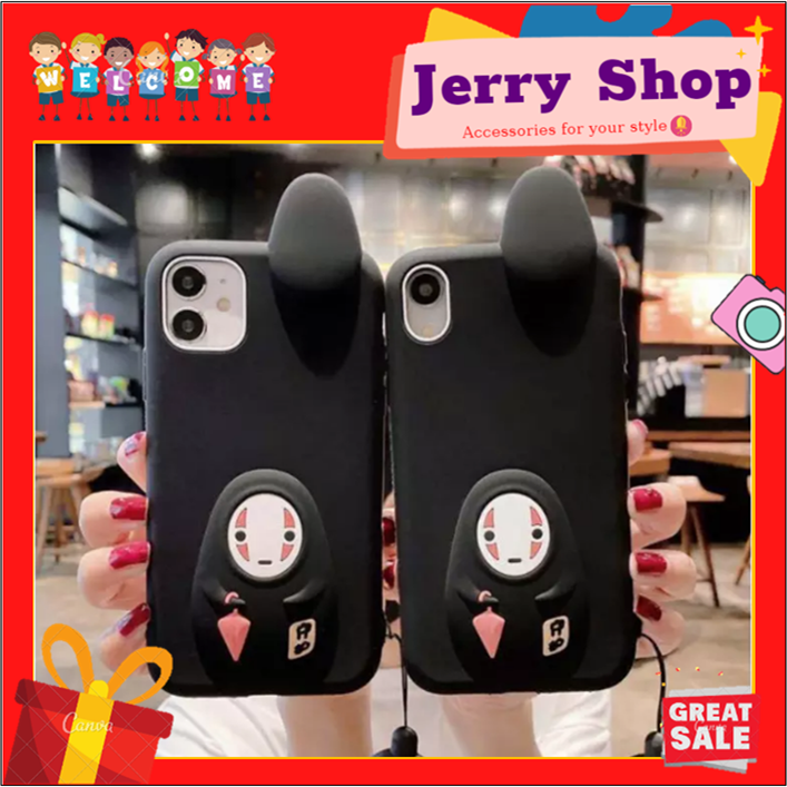 Ốp Iphone – Ốp Lưng Silicon Ốp Ma 6/6S/6Plus/6S Plus/7/8/7Plus/8Plus/X/Xs/Xs Max/11/11Pro Max-Jerry Case