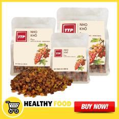 Túi Nho Khô Nâu Real Food (250g) – Sản phẩm nhập khẩu trực tiếp với công nghệ sấy khô tự nhiên hiện đại giữ nguyên được các dưỡng chất cần thiết ngon ngọt tự nhiên