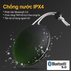 Loa Bluetooth Không Dây Di Động , Âm Thanh Sống Động, TWS Có Thể Cùng Lúc Kết Nối 2 Loa, Loa Mini , Có Dây Đeo Treo Hông Nhỏ Gọn, Chống Nước , Bảo Hành 12 Tháng F5
