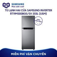 Tủ lạnh hai cửa Samsung RT19M300BGS/SV Digital Inverter 203L (Xám)