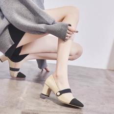 giày cao gót 5 phân quai ngọc
