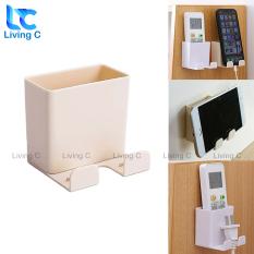 Kệ để đồ dán tường đựng remote điện thoại điều khiển đa năng Living C R25 có sẵn miếng dán tường