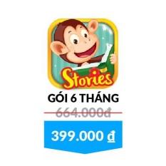Monkey Stories – Gói 6 tháng – Tặng Bộ Sách Music Book