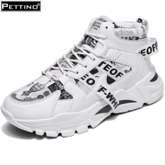 Giày cao cổ nam, giày nam, sneaker nam, giày đế cao thoáng khí PETTINO – LLTC03