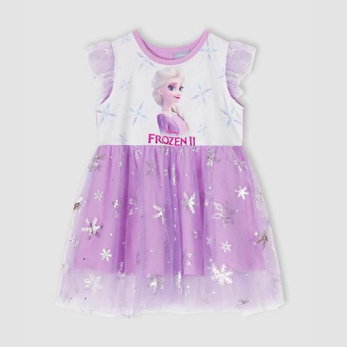Đầm voan Elsa bé gái Rabity 5367