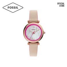 Đồng hồ nữ FOSSIL Carlie Mini dây da ES4833 – màu nude