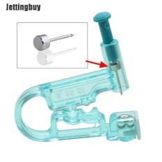 Jettingbuy New Dùng Một Lần An Toàn Vô Trùng Tai Sụn Piercing Studs Bông Tai Piercer Kit