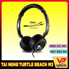 Tai nghe chụp tai chơi game Turtle Beach M3 gaming âm thanh cực hay bass sâu dùng cho laptop máy tính