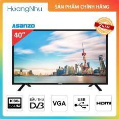 Tivi LED Asanzo 40 inch, model 40T550, 40AT320 (Full HD, Tích hợp truyền hình KTS)