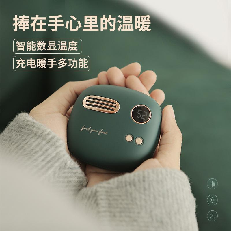 Máy sưởi ấm mini cầm tay Liberfeel made by Xiaomi kiêm sạc dự phòng ( Món quà noel ý nghĩa...