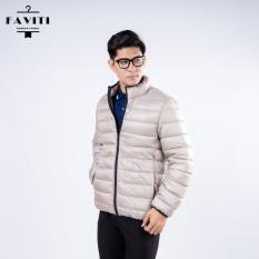 Áo phao nam FAVITI siêu nhẹ siêu ấm – Áo khoác béo siêu nhẹ AK117