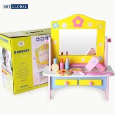 Đồ chơi bàn trang điểm gỗ cao cấp cho bé BBT Global MSN15030