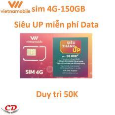 Siêu thánh sim UP-4G VNMB miễn phí max data-0 d