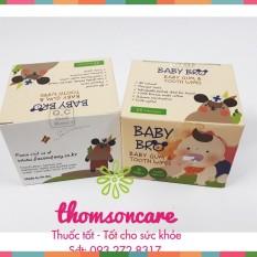 Gạc rơ lưỡi Baby Bro – Nhập khẩu Hàn Quốc – Baby Pro vệ sinh răng miệng cho bé Chính hãng