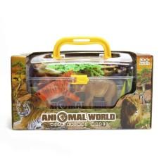 Bộ đồ chơi sưu tầm thế giới con vật VBC-JD666-6