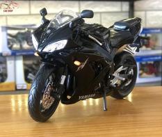 Mô hình xe mô tô tỉ lệ 1/12 – Siêu xe Yamaha YZF-R1 hãng Maisto màu đen