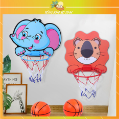 Bóng rổ treo tường mini, Trò chơi ném bóng rổ phát triển chiều cao tăng khả năng vận động cho trẻ