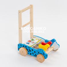 [Lấy mã giảm thêm 30%]Xe tập đi gỗ Chó Đốm loại đẹp [Made in Vietnam]