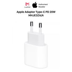 Apple Adapter Type-C Power Delivey 20W – Genuine VN/A – 100% New (Not Activated, Not Used) – MHJE3ZA/A