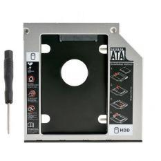 khay ổ cứng caddy bay SATA dày 12,7mm – gắn thêm ổ cứng cho laptop