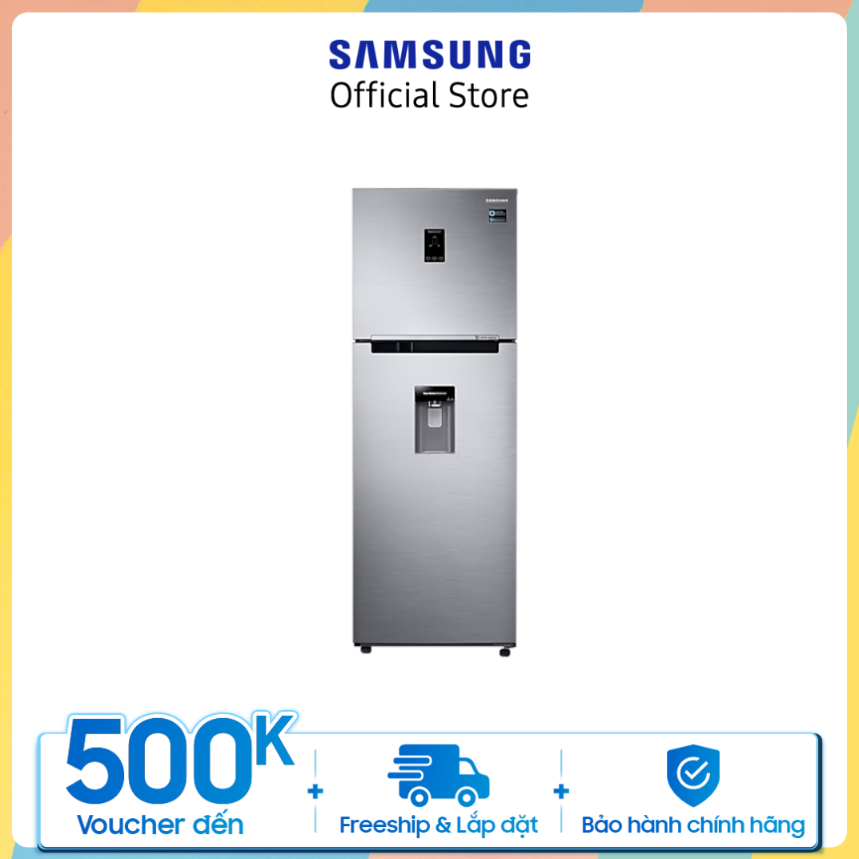[Trả góp 0%]Tủ lạnh Samsung hai cửa Twin Cooling Plus 327L (RT32K5932S8)
